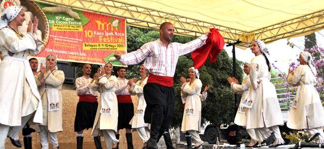 GİRSAD Halk Dansları Ekibi göz doldurdu