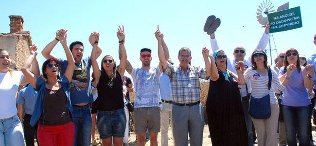 Derinya sınır kapısının açılması eylemi Kıbrıs Rum Basını'nda