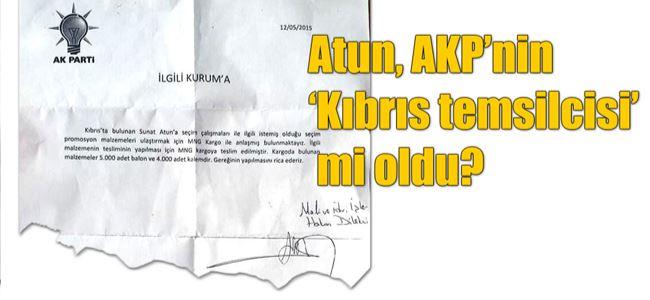 """Atun'a AKP'den """"5 bin balon"""" iddiası"""
