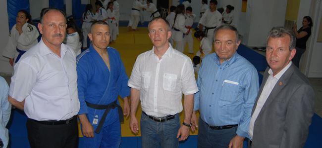 Judo başkanlarından ziyaret