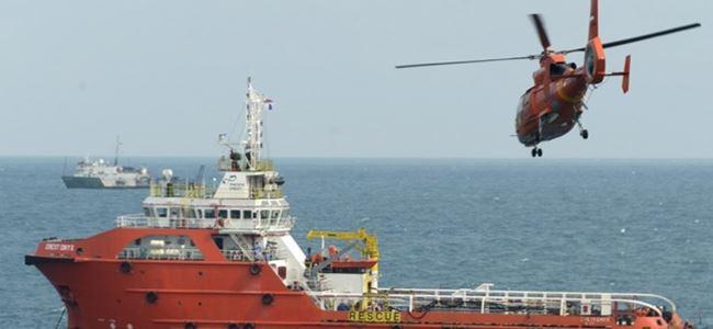Denizde kaybolan uçak bulundu, pilotlar kayıp