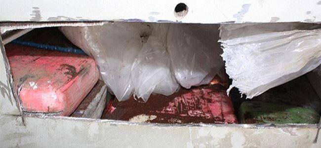 Düşen uçaktan 1,2 ton kokain çıktı