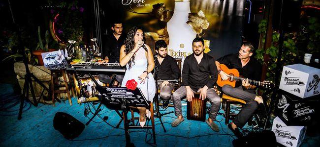 Anason Orkestrası, Kıbrıs Rakı Festivali'ni coşturuyor