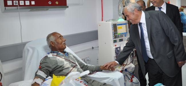 Girne'de hemodiyaliz servisi açıldı