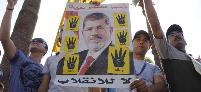 Mursinin idam kararı protesto edildi