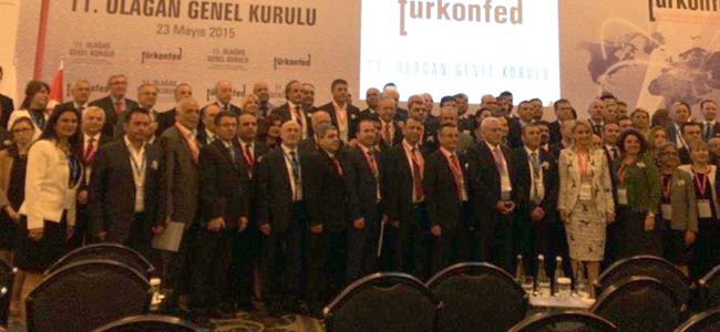 İŞAD, İstanbul'da TÜRKONFED'in Genel Kurul'una katıldı