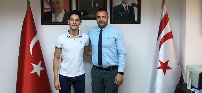 Berk'ten Cahitoğlu'na ziyaret