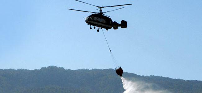 Yangın helikopteri için ihaleye çıkıldı