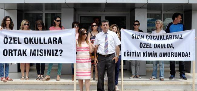 Ertuğrul'daki grev devam ediyor