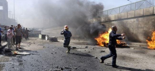 Bağdat'ta patlama; 4 ölü, 18 yaralı