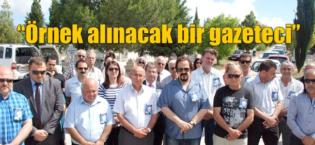 Gazeteci Omaç Başat anıldı
