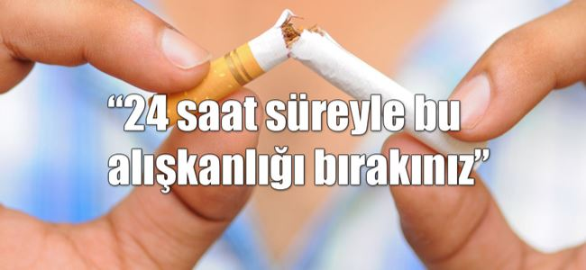 Bugün 31 Mayıs Dünya Sigarasız Günü…