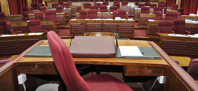 Meclis toplandı ve kapatıldı.