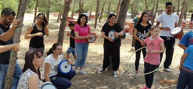 Türk Bankası ailesi bahar şenliğinde bir araya geldi...