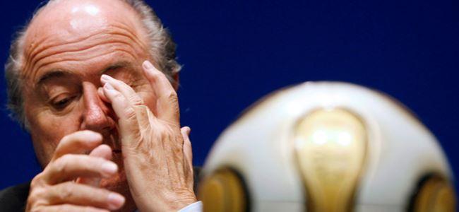 Blatter'den beklenmedik istifa