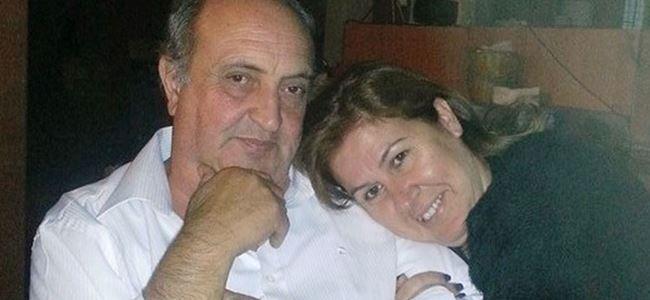 Çıkan yangında ölen çift İzmirde toprağa verildi