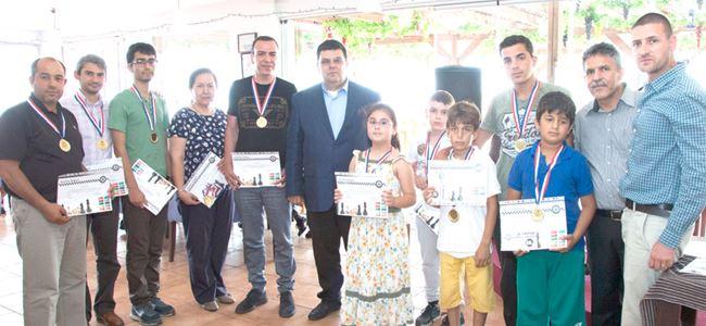 Girne satranççıları turnuvada buluştu