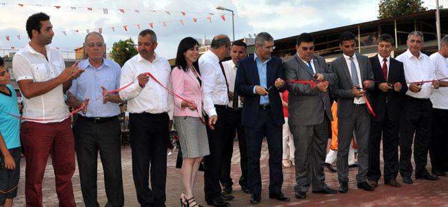 Yusuf Erol Spor Kompleksi açıldı