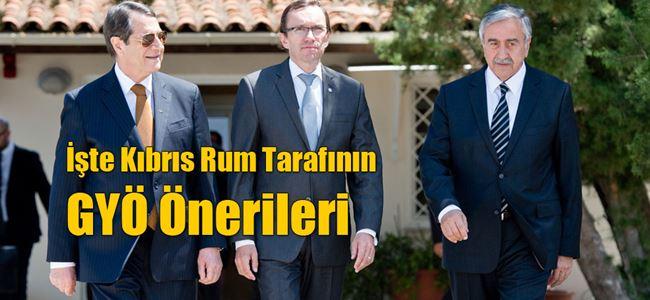 Kıbrıs Rum tarafının GYÖ listesi basına sızdı