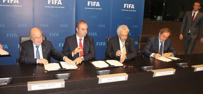 """""""Blatter'in istifası süreci etkilemez"""""""
