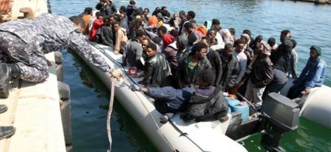 3500 göçmen kurtarıldı