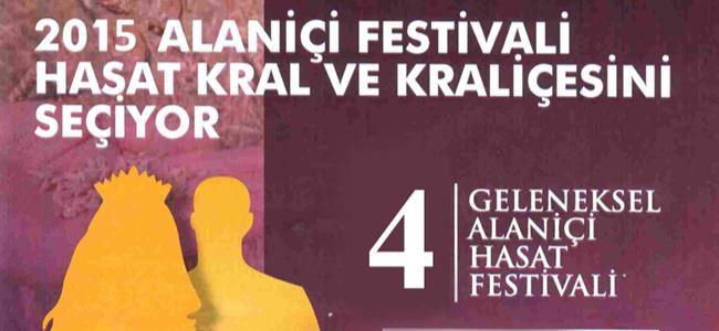 4. Alaniçi Hasat Festivali başlıyor