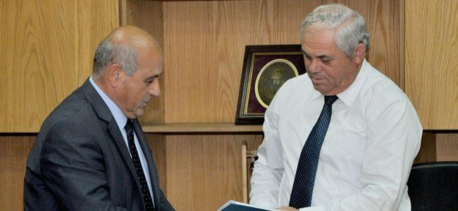 Su Yönetimi Projesi Başbakan Yorgancıoğluna sunuldu