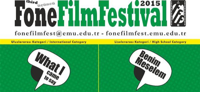 Fone Film Festivali yarın başlıyor.