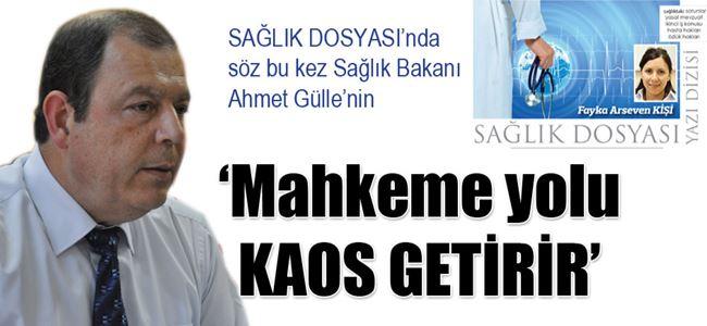'Mahkeme yolu KAOS GETİRİR'