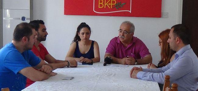 Eczacılık Öğrencileri İnisiyatifi, BKP'yi ziyaret etti