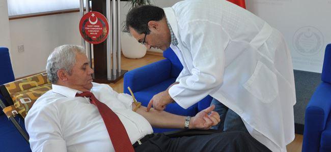 Meclis'te kan bağışı