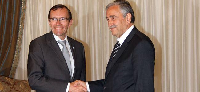 Kıbrıslı Türk Lider Akıncı bugün Eide'yi kabul edecek