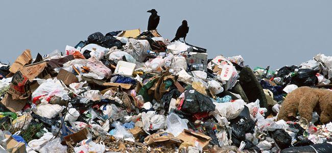 Kalkanlı çöp alanı kapatıldı