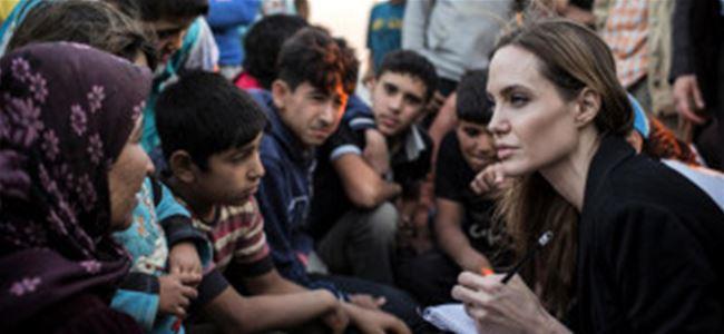 Angelina Jolie, Mardine gitti