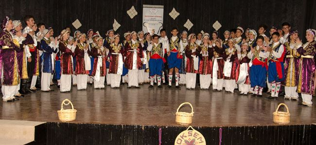 OKSEM 3. Halk Dansları Şöleni gerçekleştirildi
