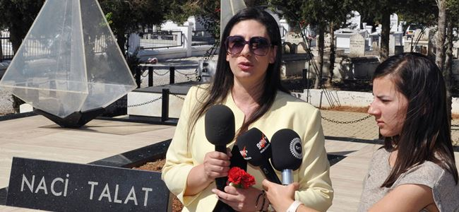 Naci Talat ölümünün 24. yıldönümünde anılıyor