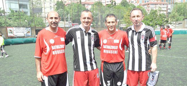 Gönyeli masterleri Beşiktaş ile oynadı
