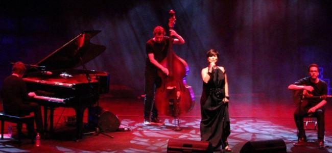 Cristina Branco, Salamis Antik Tiyatro'da sahne aldı