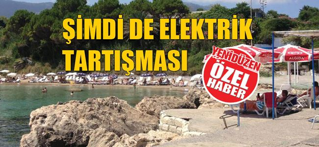 Mare Monte plajında 'kablo' gerginliği