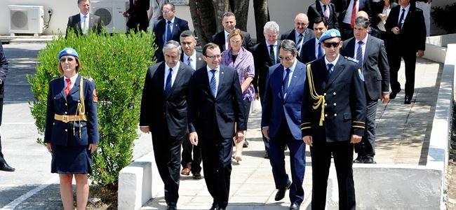 Liderler görüşmesi sona erdi