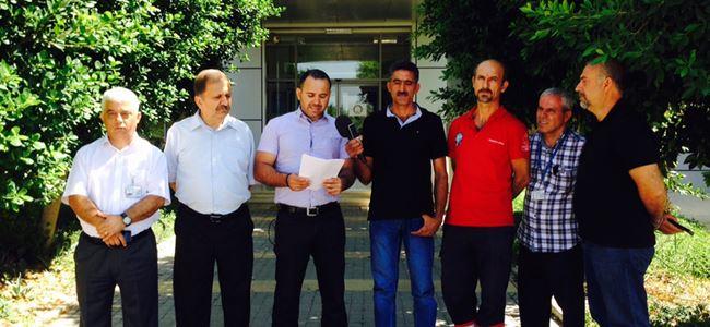 KTAMSdan Ercanda grev uyarısı