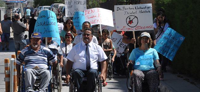 Engelliler Eşit Sağlık Hizmeti talep etti