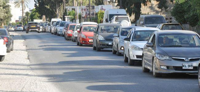 Başkent'te trafik çilesi