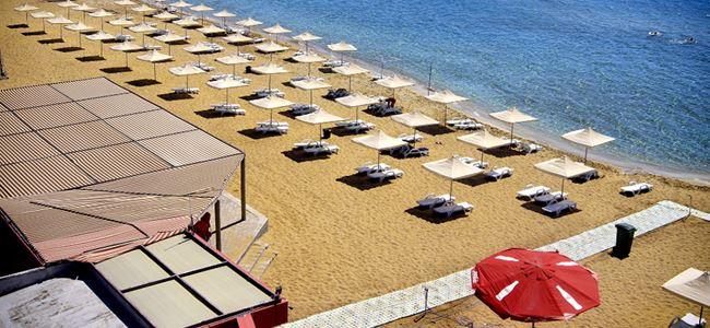 Bafra Plajı yenilendi