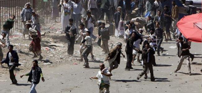 YEMENdeki çatışmalarda 16 kişi öldü