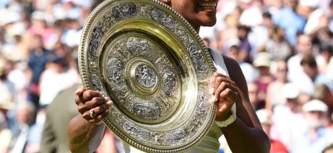 Wimbledon'da zafer Williams'ın