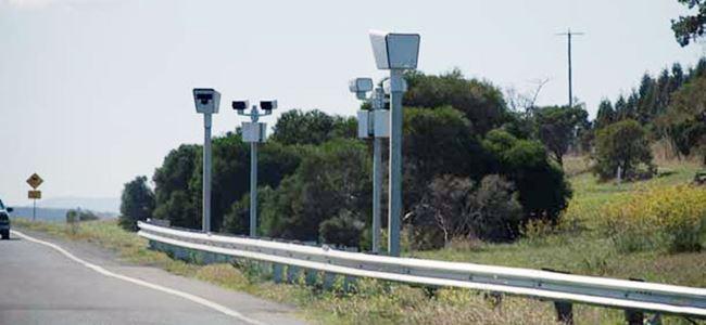 Yeni hız tespit kameraları devrede