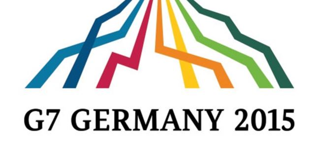 G7 Zirvesinin logosu 80 bin euro