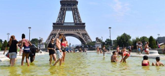 Fransada sıcak hava dalgası