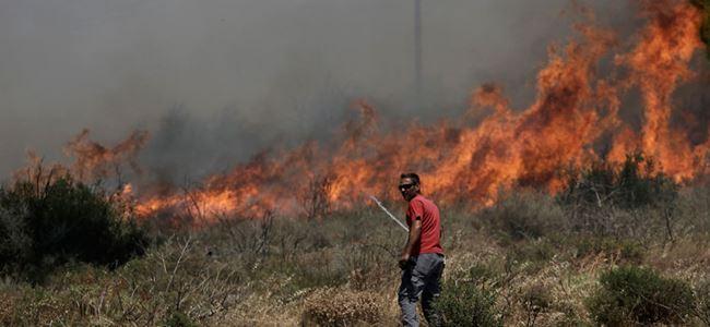 Yunanistan'da yangın kabusu